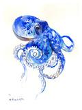 Octopus 2 Print by Suren Nersisyan