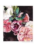 Blooms On Black 4 Plakater af Claudia Libenberg