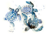 Sea Turtles Posters by Suren Nersisyan