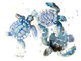 Tortugas marinas Póster por Suren Nersisyan