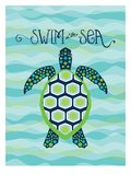 Nautical_SeaTurtle Prints by Jilly Jack Designs
