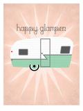 Vintage_Camper Affiches par Jilly Jack Designs