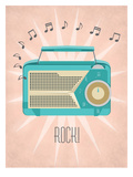 Vintage_Radio Prints by Jilly Jack Designs