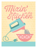 KitchenBar_Mixer3 Posters by Jilly Jack Designs