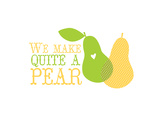Fruit_pear Prints by Jilly Jack Designs