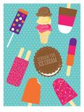 Sweets_IceCream Art by Jilly Jack Designs
