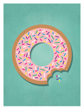 Sweets_Donut Art par Jilly Jack Designs