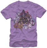 Star Wars-In Color T-shirts