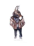 Jeffrey the Mule Poster af Claudia Libenberg