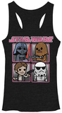 Juniors: Star Wars-Cute Quad Tank Top Tank Top