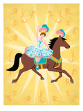 Circus 2 Print by Jilly Jack Designs