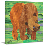 Brown Bear 2 Print on Canvas Gallery Wrapped Canvas by Eric Carle