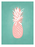 PalmSprints_Pineapple Poster by Jilly Jack Designs