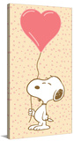 Snoopy Balloon Peanuts Print on Canvas Stretched Canvas Print by Charles M. Schulz