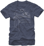 Star Wars-Simple R2D2 Camisetas