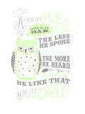 Owl-5 Print