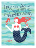 Nautical_Mermaid Prints by Jilly Jack Designs