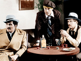 THE STING, from left: Robert Shaw, Robert Redford, Paul Newman, 1973 Metal Print