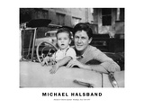 Michael and Melvin Sponder Brooklyn, New York 1957 Photographic Print by Michael Halsband
