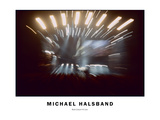 Rock Concert No. 1 Live Photographic Print by Michael Halsband