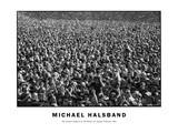 The Greatest Audience in the World Los Angeles Coliseum 1981 Photographic Print by Michael Halsband