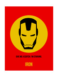 Iron Poster 1 Metal Print by Anna Malkin