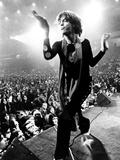 Gimme Shelter, Mick Jagger, 1970 Reproduction sur métal
