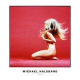 Heather on Red Photographic Print by Michael Halsband