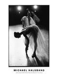School of American Ballet Workshop Onstage Dress Rehersal No. 13, New York City Fotografisk tryk af Michael Halsband