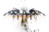 Eagles Become Kunst på metal af Alex Cherry