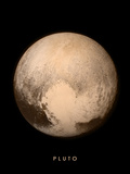 Pluto Print by APL, SwRI, NASA