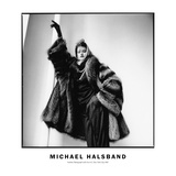Fashion Photograph with Furs No. 2, New York City 1983 Photographic Print by Michael Halsband