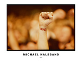 Tattoo Photographic Print by Michael Halsband