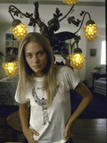 Actress Peggy Lipton Metal Print by Vernon Merritt III