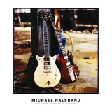 Hard Rock Guitars at Battersea Power Station London England August 24, 1995 Lámina fotográfica por Michael Halsband