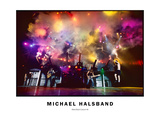 Hard Rock Concert No. 4 Photographic Print by Michael Halsband