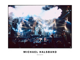 Rock Concert No. 2 Live Photographic Print by Michael Halsband
