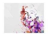 Marilyn Monroe Metal Print by  NaxArt