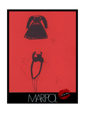 Dresses Prints by  Maripol