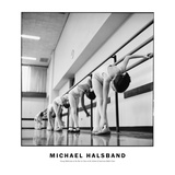 Young Ballerinas at the Bar in Class at the School of American Ballet Class Fotodruck von Michael Halsband