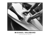 Fin Measurement by Shaka, Del Mar, California 2003 Photographic Print by Michael Halsband