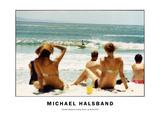 Donald Takayama Surfing Noosa, Australia 2001 Photographic Print by Michael Halsband