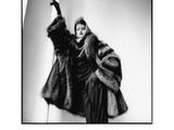 Fashion Photograph with Furs No. 2, New York City 1983 Posters by Michael Halsband