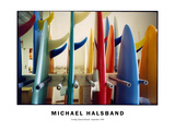 Freshly Glassed Boards, September 1999 Photographic Print by Michael Halsband