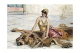 Beauty from Harem Giclee Print by Adolfo Belimbau