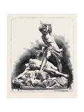 The Paris Universal Exhibition: Parian Group, Cain and Abel Giclee Print by Albert-ernest Carrier-belleuse