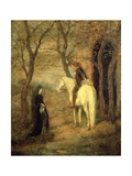 Roadside Meeting, 1901 Giclee Print by Albert Pinkham Ryder