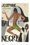 Josephine Baker - Au Bal Negra (The Black Ball) - le 12 Février 1927 (February 12, 1927) Prints