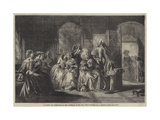 Academy for Instruction in the Discipline of the Fan, 1711 Giclee Print by Abraham Solomon