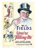 W.C. Fields in You're Telling Me Art